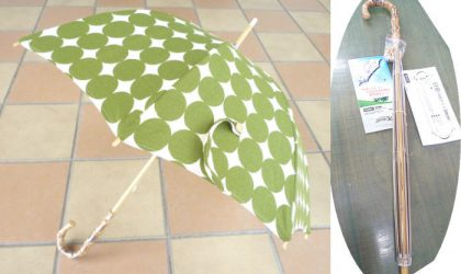 大好評「オリジナル日傘」講習会