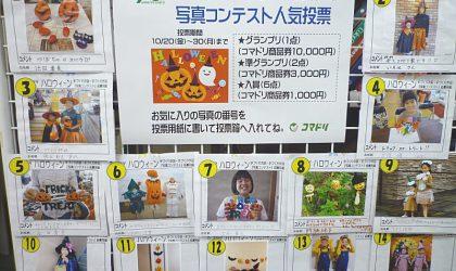 ハロウィーン手づくり作品写真コンテスト「人気投票」 10/20(金)~30(月)開催