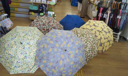 卸団地店にて日傘講習 5月25日